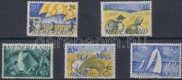 Netherlands Stamp Summer Stamps Set MNH 1949 Mi 516-520 WS134339 - Paesi Bassi