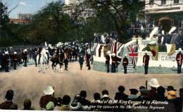 75467 - USA        Arrivée De H .M  . King George V  To Alameda - Personnages