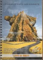 Livre De Route Du Tour De France 2010. RARE Exemplaire En Vente. - Cycling