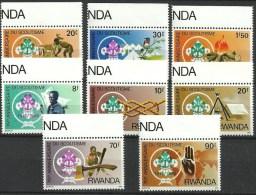 RWANDA 1253/1260 Xx ( COB ) COTE : 33 EURO - Rwanda