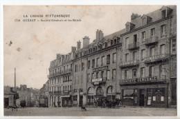 Guéret, Société Générale Et Les Hôtels, éd. PM N° 1718 - Guéret