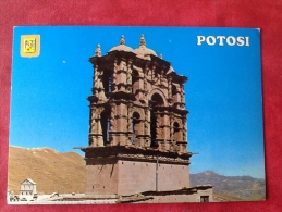 Bolivia Potosi. Torre De La Iglesia De La Compañia De Jesús - Bolivie