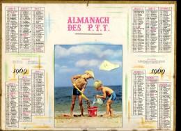 CALENDRIER ANNEE 1969 - ALMANACH DES POSTES ET DES TELEGRAPHES -  DEPARTEMENT DU VAR -   EDITEUR OLLER - Calendriers