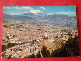 Bolivia Ciudad De La Paz. El Illimani. - Bolivie