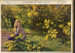 CALENDRIER ANNEE 1964 - ALMANACH DES POSTES ET DES TELEGRAPHES -  DEPARTEMENT DU VAR -   EDITEUR OLLER - Big : 1961-70