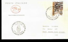 1996 BUSTA CON ANNULLO FDC  Juventus Campione D´Europa 1995-96. - F.D.C.