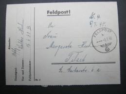 1940, VAUBOURG  , Lettre Militaire  A Allemagne - Marcophilie (Lettres)