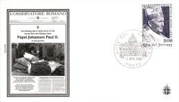 Vaticaanstad - Gelegenheidsenvelop Paus Johannes Paulus II - 2005 - Vatican