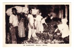 Guadeloupe - Marché De Bananes - Marchés