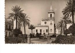 C P S M---ESPAGNE----HUELVA--iglesta Y Plaza De San Pedro---voir 2 Scans - Huelva