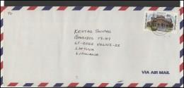 TRINIDAD & TOBAGO Brief Postal History Envelope Air Mail TT 009 Architecture - Trinidad & Tobago (1962-...)