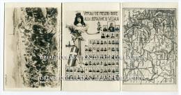 CARTOLINA TRIPLA RICORDO DELLA LIBERAZIONE DI CASSALA ANNO 1906 SUDAN - Sudan