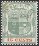Mauritius, 15 C. 1899, Sc # 107, Mi # 92, MH - Mauritius (...-1967)