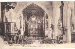 GUJAN MESTRAS  Intérieur De L'église - Voyagé TB - Gujan-Mestras