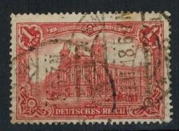 Deutsches-Rreich 1905, MiNr. 94 AI,(o) 1 M. Zustand: Gut - Gebraucht