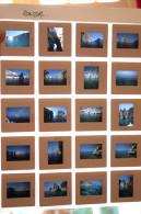 Planche De 20 Photos Diapositives Du Photographe Laurent WIAME Student Of Gene Fenn - Ponza 1988 Italie Italia - Persone Identificate