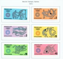 BULGARIA  -  1972  Olympic Games  Mounted Mint - Bulgaria