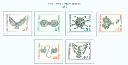 BULGARIA  -  1972  Antique Jewellery  Mounted Mint - Bulgaria