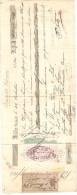 1 LETTRE DE CHANGE SUISSE BALE 1884 - Bills Of Exchange