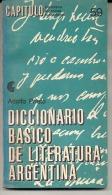 """""""DICCIONARIO BÁSICO DE LITERATURA ARGENTINA"""" DE ADOLFO PRIETO. Nº 59. GECKO. - Woordenboeken"""