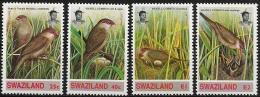 Swaziland: Astrilde Di Sant'Elena, Astrilde Of St. Helena, Astrilde De Sainte-Hélène - Papegaaien, Parkieten