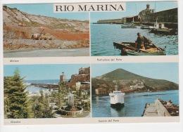 ^ ISOLA D´ELBA PORTOFERRAIO LIVORNO RIO MARINA MINIERA GIARDINI PORTO NAVE NAVY SHIP 181 - Livorno