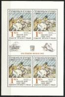 Tschechoslowakei - Mi.Nr.   2737   - Klbg.-    -postfrisch - Blocks & Sheetlets