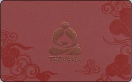 "Amerika Starbucks Gift Card ""Teavana"" 2013-6088 - Gift Cards"