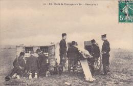 23506 L'Artillerie De Campagne Au Tir - Pièce Prête ! - 59 Lib Militaire Guerin -canon Obus Soldat