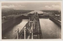 AK - Panamakanal - Gatun Locks 1930 - Panama