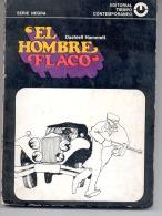"""""""EL HOMBRE FLACO"""" DE DASHIELL HAMMETT. SERIE NEGRA. PARODIA. POLICIAL. NORTEAMERICA. DECADA DEL 20. GECKO. - Humor"""