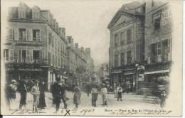 19 - Place Et Rue De L'Hôtel De Ville - Brive La Gaillarde