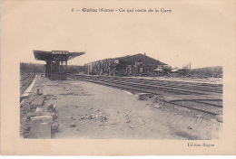 23510 - GUISE - Aisne France - Ce Qui Reste De La Gare - Ed 6 Rayne - Gares - Sans Trains