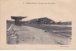 23510 - GUISE - Aisne France - Ce Qui Reste De La Gare - Ed 6 Rayne