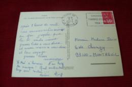 TIMBRE OBLITERATION FLAMME° PARIS 08 LE 9 04 1974  FLAMME CINQUANTENAIRE CHAMBRES D´AGRICULTURE 1924 / 1974 - Marcophilie (Lettres)
