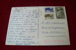 TIMBRE OBLITERATION FLAMME° LA LECHERE  ° OBLITERATION 73 BRIVES LES BAINS  LE 12 09 1988 - Marcophilie (Lettres)