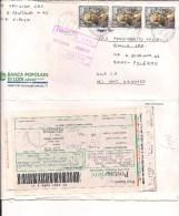 $3-3670 2001 PICCINNI £4000X3 POSTACELERE INTERNO BUSTA APERTA 3 LATI. - 6. 1946-.. Repubblica