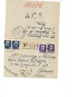 $3-3673 1945 LUGOTENENZA BIGLIETTO POSTALE POSTA MILITARE RACCOMANDATA 1 DIFETTO. - 5. 1944-46 Luogotenenza & Umberto II