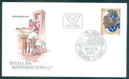 ÖSTERREICH - FDC Mi-Nr. 1557 - EUCEPA-Konferenz, Wien Stempel Wien (2) - FDC