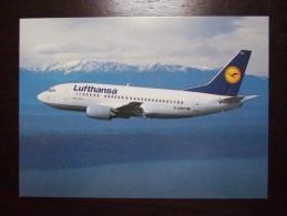 Lufthansa Airlines Carte Postale - 1946-....: Moderne