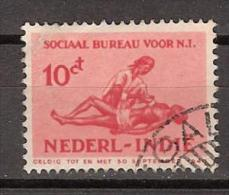 Nederlands Indie Netherlands Indies Dutch Indies 269 Used ; Sociaal Bureau 1939 - Niederländisch-Indien