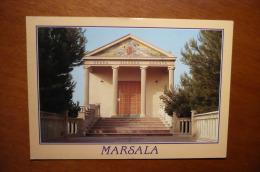 5264 MARSALA - Chiesa Agosta (viaggiata Con Francobollo) - Trapani