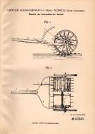 Original Patentschrift - L. Schnackenburg In Schwetz / Świecie Nad Osą , 1892 , Maschine Für Quecken , Grauden - Maschinen