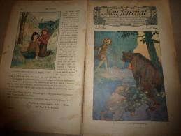 1911 MON JOURNAL: Dessins (René Vincent , Harry Eliot) ;Kra-Gul Pte Fille à L'Âge De Pierre; BONAPARTE Et La Marchande - Newspapers