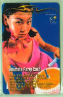 Singapore - 1999 Ultimate Party Card $3 - SIN-211A - Very Fine Used - Singapore