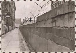 4AF1036 BERLIN THE WALL IN KREUZBERG  2 SCANS - Allemagne