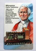 VATICANO 2000 - I MILION TELEPHONE CARDS LEONE XIII, NEW - Vaticano