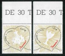 """Timbres** Gommés De 2013  """"0,61 Et 1,02 Coeur Baccaratr"""" - Neufs"""