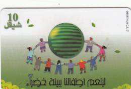PALESTINE(chip) - Children In A Circle, 05/00, Used - Palestina