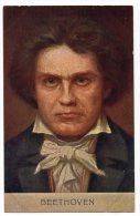 Beethoven Music Composer Carte Postale Ca1900 Vintage Original Postcard Cpa Ak (W3_3261) - Singers & Musicians